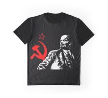 LENIN-RED STAR Graphic T-Shirt
