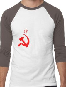 LENIN-RED STAR Men's Baseball ¾ T-Shirt