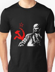 LENIN-RED STAR Unisex T-Shirt