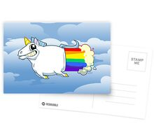 Unicorn Farts Postcards