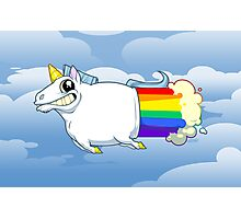 Unicorn Farts Photographic Print