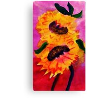 Happy Mothers Day!  watercolor Canvas Print