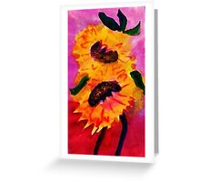 Happy Mothers Day!  watercolor Greeting Card