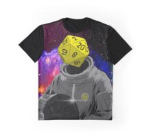 d20 Astronaut Graphic T-Shirt