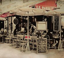 cafe de paris by lucyliu