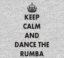 Keep Calm and Dance the Rumba One Piece - Short Sleeve