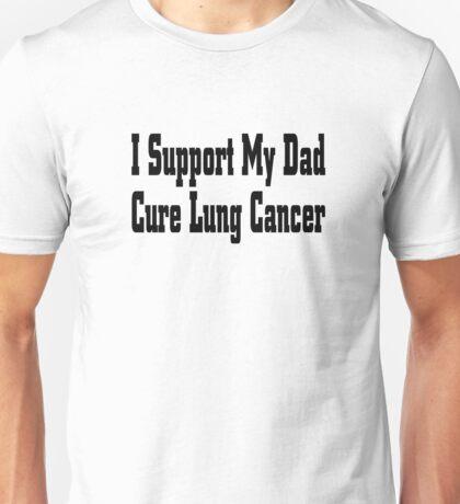Lung Cancer Unisex T-Shirt
