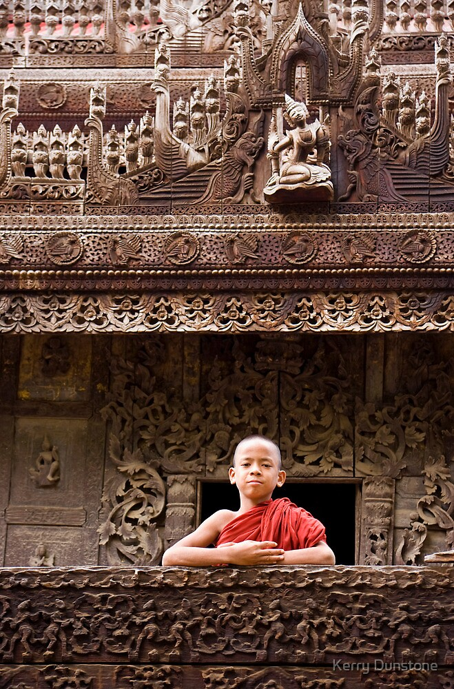 The Proud Monk by Kerry Dunstone
