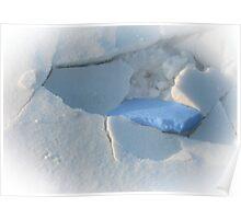 broken snow I Poster