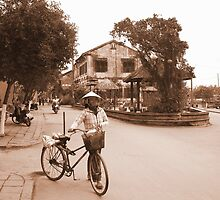Old streets of Hanoi, Vietnam by mechelle142