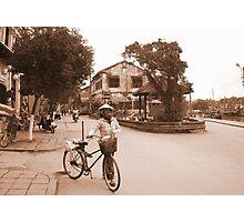 Old streets of Hanoi, Vietnam Photographic Print