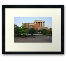 Side view of Ho Chi Minh's Mausoleum Framed Print