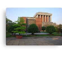 Side view of Ho Chi Minh's Mausoleum Canvas Print