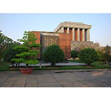 Side view of Ho Chi Minh's Mausoleum Photographic Print