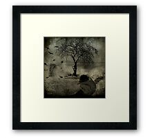 A Child's Nightmare Framed Print