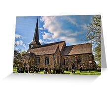 St Peter and St Paul, Wadhurst Greeting Card