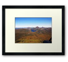 Beautiful Tasmania - Honing in on Cradle Mountain Framed Print