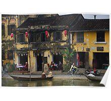 Buildings of Hoi An, Vietnam Poster