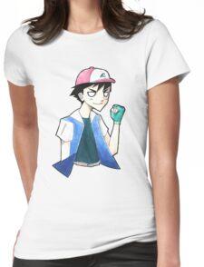 Pokemon: Ash Ketchum Womens Fitted T-Shirt
