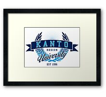 Kanto Region University Framed Print