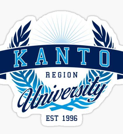 Kanto Region University Sticker