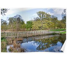 Reflections At Knole Poster
