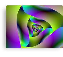 Triangular fractal Canvas Print
