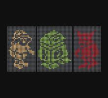 PIXEL8 | Classic Retro Arcade Trio by 8eye