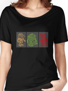 PIXEL8 | Classic Retro Arcade Trio Women's Relaxed Fit T-Shirt