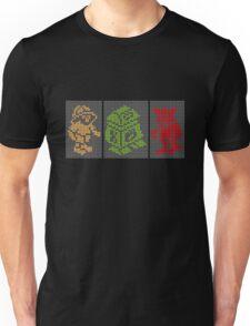 PIXEL8   Classic Retro Arcade Trio Unisex T-Shirt