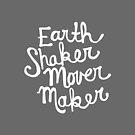 Earth Shaker Mover Maker in Slate Gray by joyfulroots