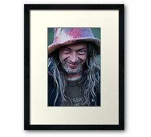 ❤‿❤ . Joyful and playful man. No.2. Framed Print