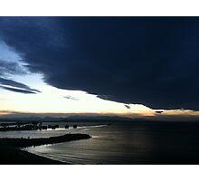 Puget Sound sunset at Edmonds Photographic Print