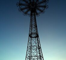 Parachute Drop - Coney Island by Amanda Vontobel Photography/Random Fandom Stuff