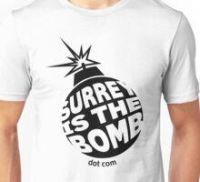 Surrey Is The Bomb dot com Unisex T-Shirt
