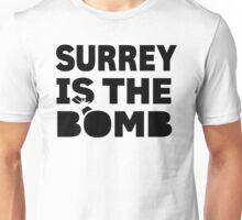 Surrey Is The Bomb dot com 3.0 Unisex T-Shirt