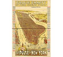 Panoramic Maps Gracie Emmett in her great play the Pulse of New York Photographic Print