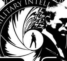50th Anniversary James Bond Tee Sticker