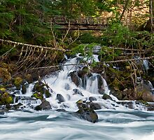 White River Flow - Snoqualmie N. F. by Mark Heller