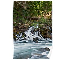 White River Flow - Snoqualmie N. F. Poster
