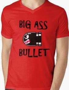 BIG ASS BULLET Mens V-Neck T-Shirt