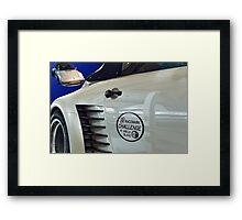 Racemark Challenge Framed Print