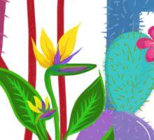 Desert Cactus Party  Sticker