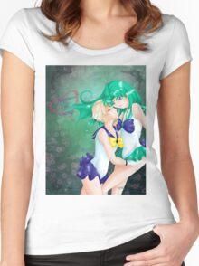 Neptune & Uranus Women's Fitted Scoop T-Shirt