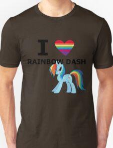 I Heart Rainbow Dash T-Shirt