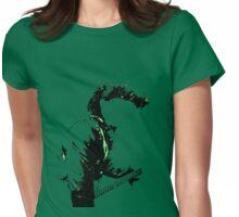 Guitar gurl Womens Fitted T-Shirt