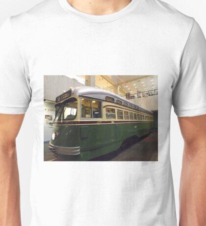 Vintage Philadelphia PCC Trolley, SEPTA Museum, Philadelphia, Pennsylvania  T-Shirt