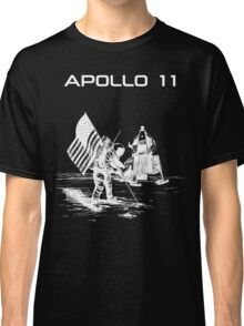 Apollo 11 - White ink Classic T-Shirt