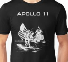 Apollo 11 - White ink Unisex T-Shirt
