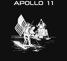 Apollo 11 - White ink Unisex T-Shirt